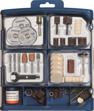 DREMEL® 100 parça DREMEL® Multipurpose Accessory Set (723)