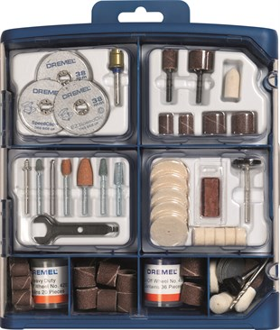 DREMEL® 150 parça DREMEL® Multipurpose Accessory Set (724)